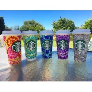 Bundle of 5 Starbucks Reusable Cups